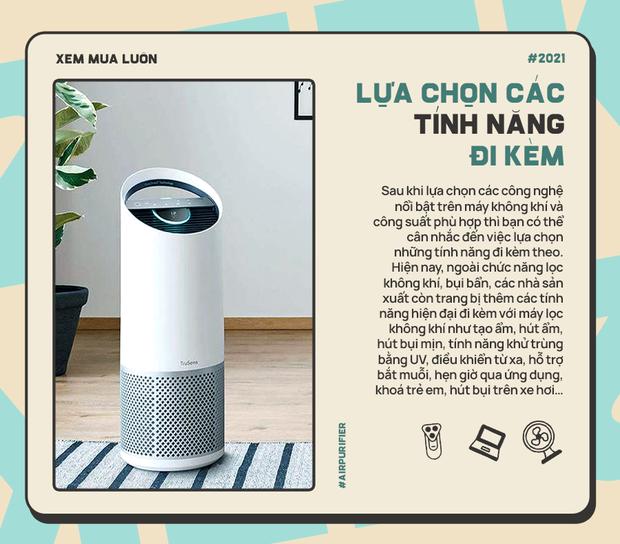 Góc chị em low-tech: Kinh nghiệm chọn máy lọc không khí cho gia đình, sạch - sang - xịn sò - Ảnh 5.