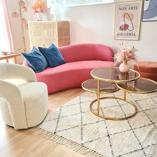 7 mẫu sofa đẹp xịn đang sale, sắm về sang nhà sang cửa tức thì - Ảnh 9.