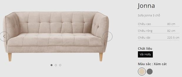 7 mẫu sofa đẹp xịn đang sale, sắm về sang nhà sang cửa tức thì - Ảnh 13.