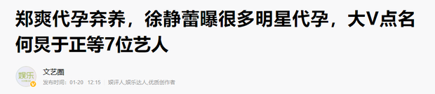 Sau phốt căng của Trịnh Sảng, 7 ngôi sao bị réo tên vì nghi vấn mang thai hộ: Chuyện quá phổ biến trong giới giải trí? - Ảnh 2.