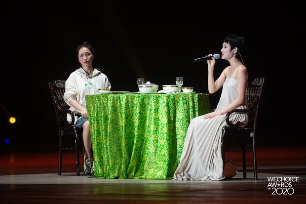 Hoà Minzy - Hiền Hồ sẽ có màn đọ giọng nổi da gà tại Gala WeChoice: Bàn tiệc bí ẩn, 1 chàng trai và điều gì sẽ xảy ra? - Ảnh 6.