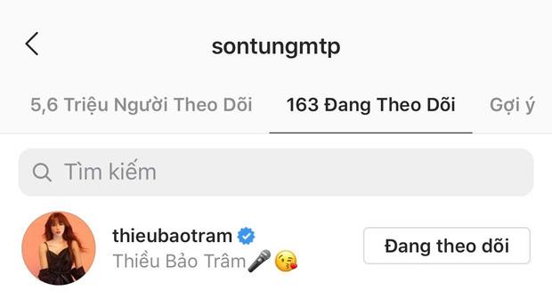 Sau Thiều Bảo Trâm, đây là cô gái Việt thứ 2 được Sơn Tùng M-TP follow và thả thính liên tục trên MXH - Ảnh 2.