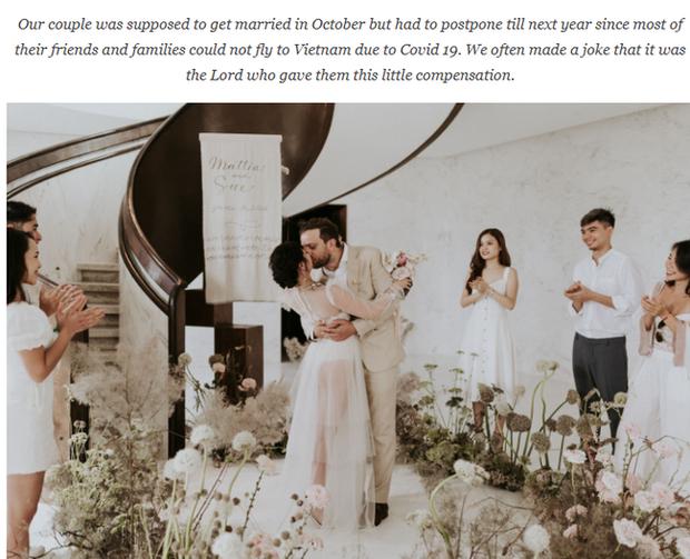 Có gì trong đám cưới bí mật có vẻ lạ lùng ở Đà Nẵng nhưng được báo Tây ca ngợi hết lời? - Ảnh 1.