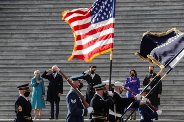 Toàn cảnh lễ nhậm chức của Tổng thống Mỹ Joe Biden - Ảnh 13.