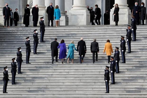 Toàn cảnh lễ nhậm chức của Tổng thống Mỹ Joe Biden - Ảnh 20.