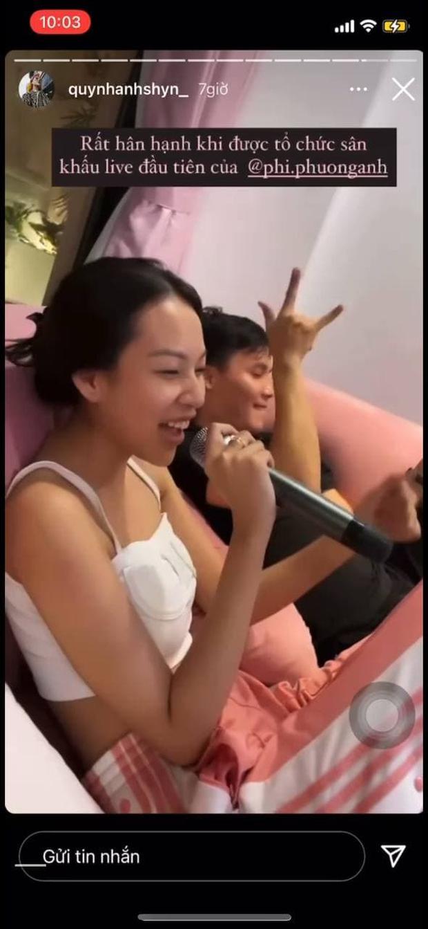 Phí Phương Anh vừa có sân khấu live đầu tiên tại nhà Quỳnh Anh Shyn: Liên tục lạc giọng, nghe xong ám ảnh cả tuần - Ảnh 4.