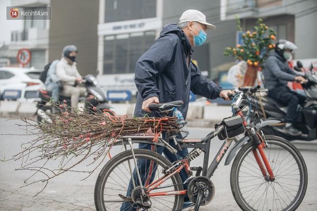 Ảnh: Trời lạnh sương mờ, làng đào Nhật Tân khoe sắc, đúng là Tết đang đến rất gần rồi! - Ảnh 16.