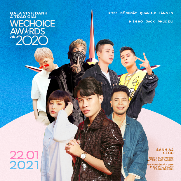 HOT: Jack, Quân A.P, Hiền Hồ, Dế Choắt và dàn nghệ sĩ cũng xác nhận góp mặt trong dàn line-up cực khủng của đêm Gala WCA 2020 - Ảnh 1.