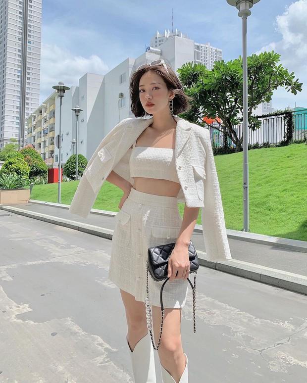 Dàn sao từ Hàn đến Việt đều mê mẩn combo váy áo hack dáng đỉnh cao, khoe eo sexy mà vẫn sang hết nút - Ảnh 11.