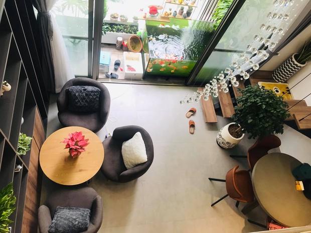 Bán nhà chung cư 2 phòng ngủ, cô nàng chuyển về căn hộ 39m2 ở Phú Mỹ Hưng để trồng cây, nuôi cá - Ảnh 2.