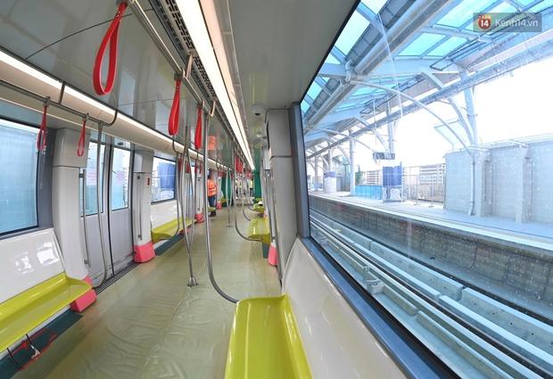 Ảnh: Cận cảnh đoàn tàu đầu tiên dự án Nhổn - ga Hà Nội - Ảnh 14.