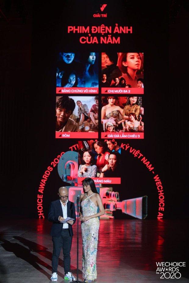 Tiệc Trăng Máu ẵm trọn siêu cúp Phim điện ảnh của năm tại WeChoice Awards 2020 - Ảnh 1.