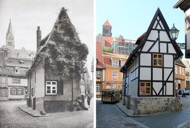 Nhiếp ảnh gia ngao du khắp châu Âu, tìm lại những địa điểm trong loạt ảnh cũ từ 100 năm trước khiến ai cũng ngỡ ngàng vì sự đổi thay kì diệu - Ảnh 1.