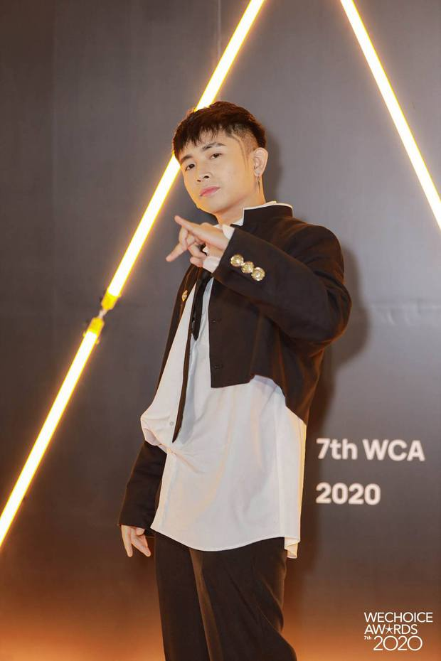 Dàn sao Rap Việt, Sao Nhập Ngũ, Người Ấy Là Ai... xúng xính lên đồ đổ bộ thảm đỏ WeChoice Awards 2020 - Ảnh 7.