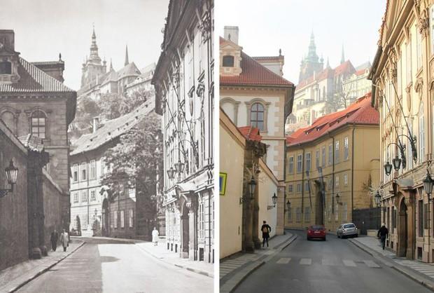 Nhiếp ảnh gia ngao du khắp châu Âu, tìm lại những địa điểm trong loạt ảnh cũ từ 100 năm trước khiến ai cũng ngỡ ngàng vì sự đổi thay kì diệu - Ảnh 12.
