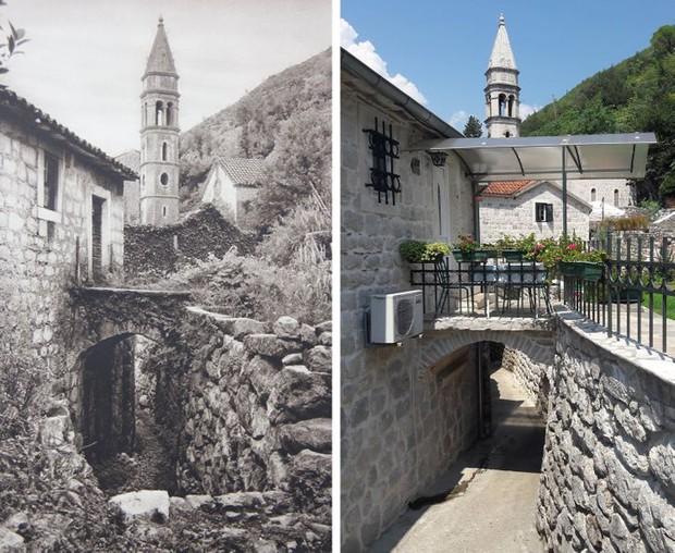Nhiếp ảnh gia ngao du khắp châu Âu, tìm lại những địa điểm trong loạt ảnh cũ từ 100 năm trước khiến ai cũng ngỡ ngàng vì sự đổi thay kì diệu - Ảnh 13.