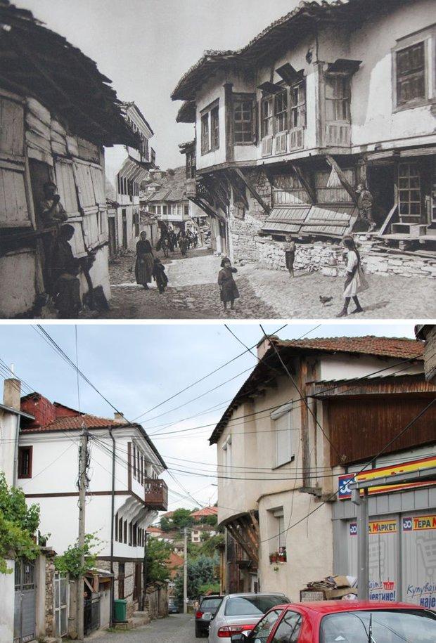 Nhiếp ảnh gia ngao du khắp châu Âu, tìm lại những địa điểm trong loạt ảnh cũ từ 100 năm trước khiến ai cũng ngỡ ngàng vì sự đổi thay kì diệu - Ảnh 4.