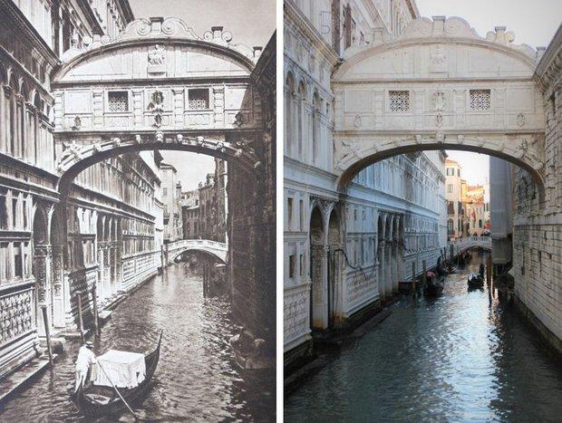 Nhiếp ảnh gia ngao du khắp châu Âu, tìm lại những địa điểm trong loạt ảnh cũ từ 100 năm trước khiến ai cũng ngỡ ngàng vì sự đổi thay kì diệu - Ảnh 14.