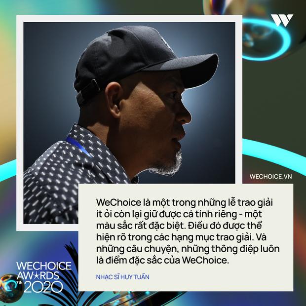 Nhạc sĩ Huy Tuấn khẳng định: WeChoice Awards là một trong số ít lễ trao giải giữ được cá tính riêng - Ảnh 2.