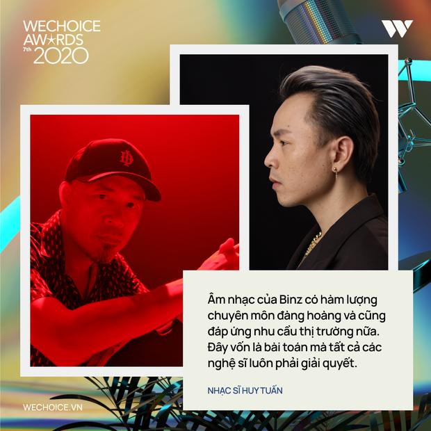 Nhạc sĩ Huy Tuấn khẳng định: WeChoice Awards là một trong số ít lễ trao giải giữ được cá tính riêng - Ảnh 5.