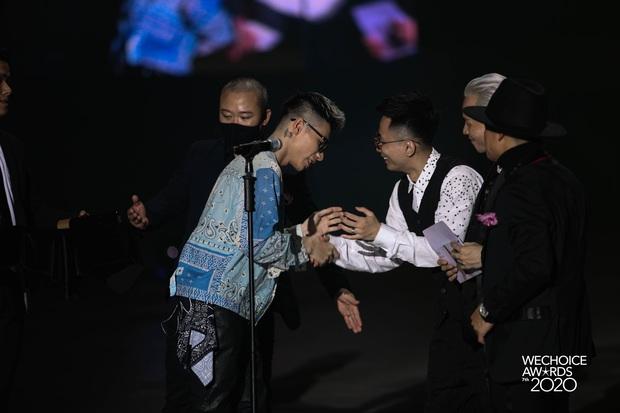 MCK ẵm giải thưởng đầu tiên trong sự nghiệp, là Gương mặt Rap/Hip-hop triển vọng tại WeChoice Awards 2020 - Ảnh 6.