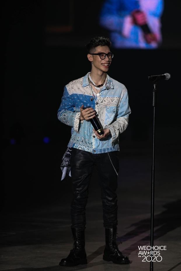 MCK ẵm giải thưởng đầu tiên trong sự nghiệp, là Gương mặt Rap/Hip-hop triển vọng tại WeChoice Awards 2020 - Ảnh 8.