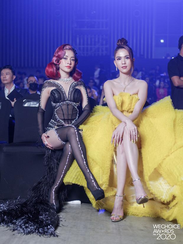 Gala WeChoice 2020 biến thành đại hội đọ sắc của dàn mỹ nhân Vbiz: Ngọc Trinh - Chi Pu sexy nghẹt thở, Đỗ Thị Hà xinh xỉu giữa dàn hậu - Ảnh 9.