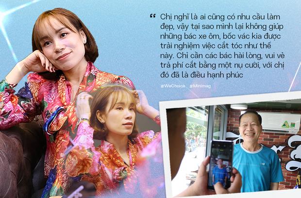 """Người phụ nữ đứng sau chiếc xe cắt tóc tiền tỷ đi khắp Việt Nam gom 10.000 nụ cười gây quỹ: """"Ngày nào ít tiền thì đó là ngày hạnh phúc nhất"""" - Ảnh 5."""