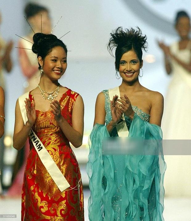 Nữ sinh chuyên Lý 17 tuổi trở thành Hoa hậu Việt Nam 2002, trốn showbiz đi du học giờ thay đổi chóng mặt, nhan sắc gây bất ngờ - Ảnh 2.