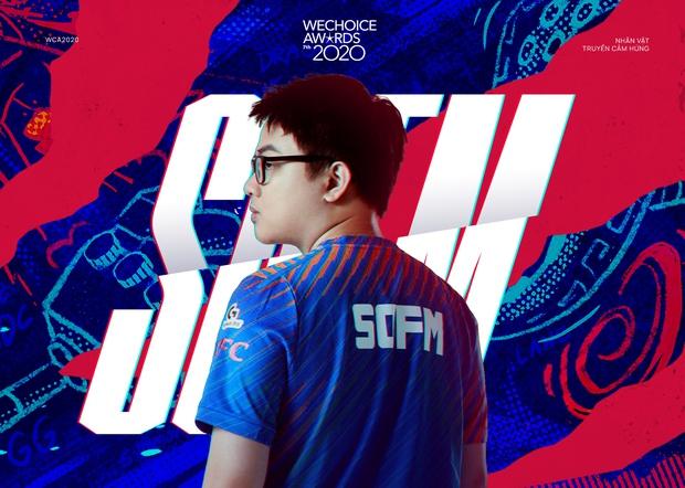 Tự hào game thủ Việt: SofM lọt top 5 Đại sứ truyền cảm hứng tại WeChoice Awards 2020 - Ảnh 2.