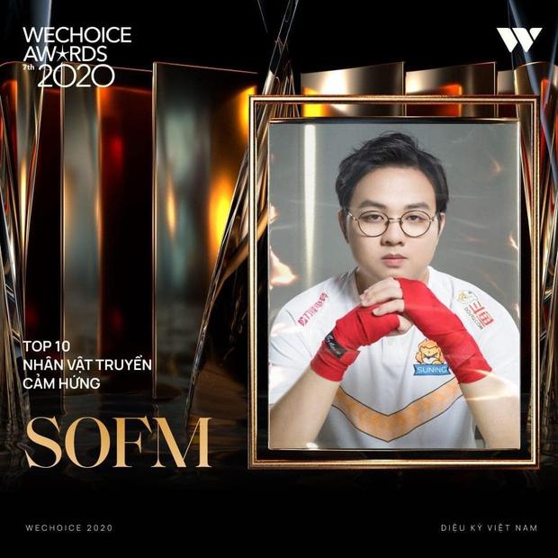 Tự hào game thủ Việt: SofM lọt top 5 Đại sứ truyền cảm hứng tại WeChoice Awards 2020 - Ảnh 3.