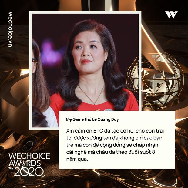 Những chia sẻ chân thành và ý nghĩa của Top 5 Đại sứ truyền cảm hứng trong đêm Gala WeChoice Awards 2020 - Ảnh 2.