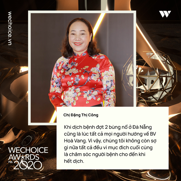 Những chia sẻ chân thành và ý nghĩa của Top 5 Đại sứ truyền cảm hứng trong đêm Gala WeChoice Awards 2020 - Ảnh 3.