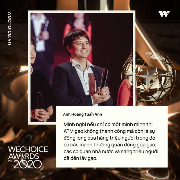 Những chia sẻ chân thành và ý nghĩa của Top 5 Đại sứ truyền cảm hứng trong đêm Gala WeChoice Awards 2020 - Ảnh 4.