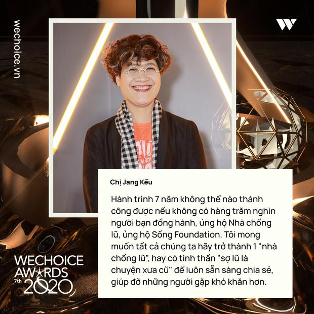 Những chia sẻ chân thành và ý nghĩa của Top 5 Đại sứ truyền cảm hứng trong đêm Gala WeChoice Awards 2020 - Ảnh 5.
