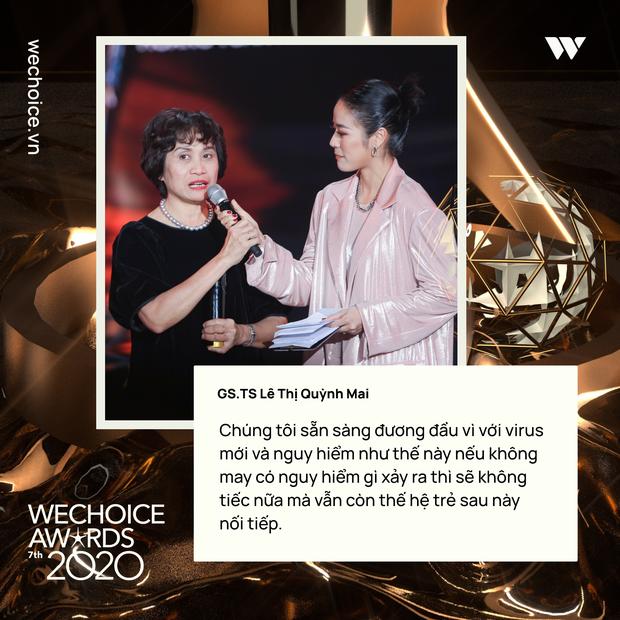 Những chia sẻ chân thành và ý nghĩa của Top 5 Đại sứ truyền cảm hứng trong đêm Gala WeChoice Awards 2020 - Ảnh 6.