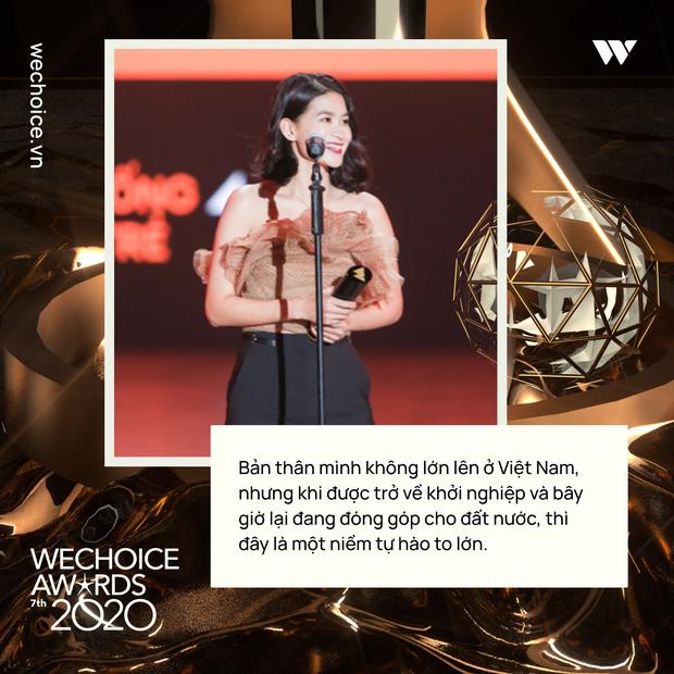 Loạt chia sẻ truyền cảm hứng của những nhân vật được xướng tên tại Gala WeChoice: Ai cũng sống hết mình, tại sao bạn lại không? - Ảnh 2.