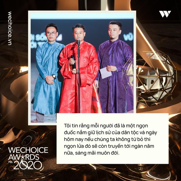 Loạt chia sẻ truyền cảm hứng của những nhân vật được xướng tên tại Gala WeChoice: Ai cũng sống hết mình, tại sao bạn lại không? - Ảnh 4.