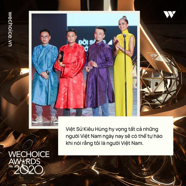 Loạt chia sẻ truyền cảm hứng của những nhân vật được xướng tên tại Gala WeChoice: Ai cũng sống hết mình, tại sao bạn lại không? - Ảnh 3.