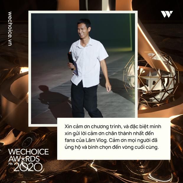 Loạt chia sẻ truyền cảm hứng của những nhân vật được xướng tên tại Gala WeChoice: Ai cũng sống hết mình, tại sao bạn lại không? - Ảnh 5.