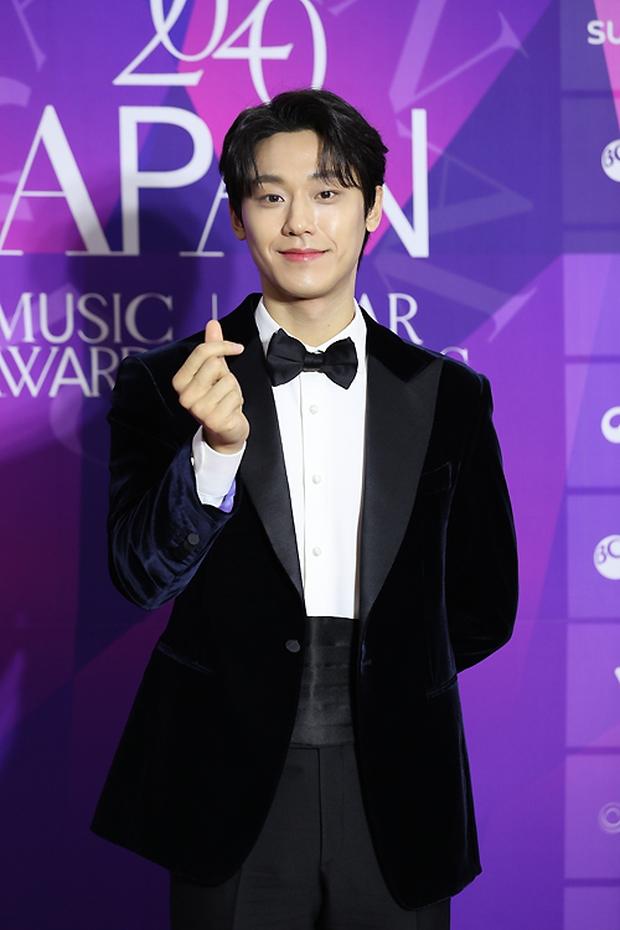 Thảm đỏ APAN Star Awards: Hyun Bin xuất hiện lẻ bóng, Son Ye Jin vắng mặt, Seo Ye Ji và Lee Min Jung xinh như thiên thần - Ảnh 12.