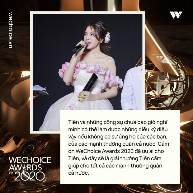 Loạt chia sẻ truyền cảm hứng của những nhân vật được xướng tên tại Gala WeChoice: Ai cũng sống hết mình, tại sao bạn lại không? - Ảnh 9.