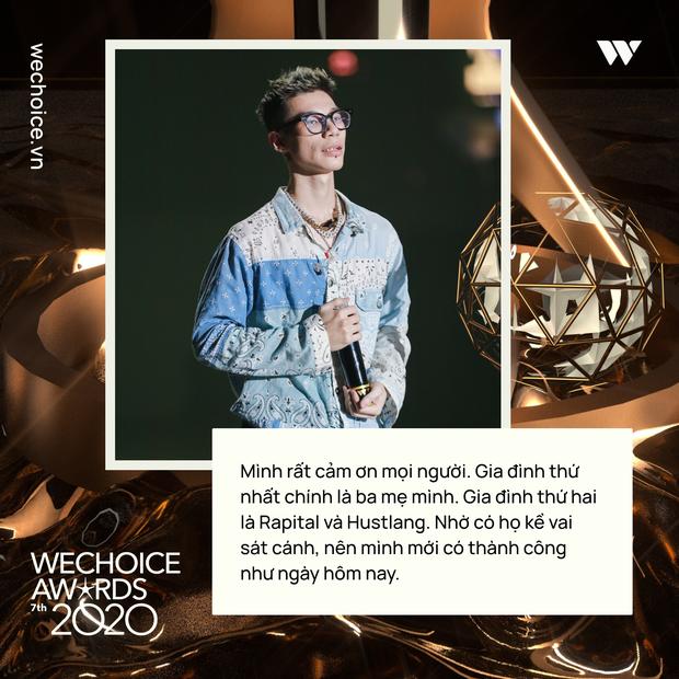 Loạt chia sẻ truyền cảm hứng của những nhân vật được xướng tên tại Gala WeChoice: Ai cũng sống hết mình, tại sao bạn lại không? - Ảnh 11.