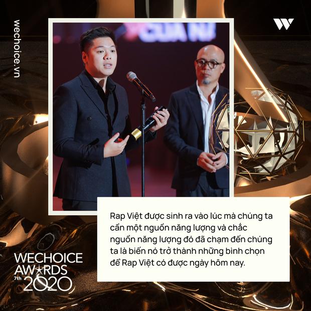 Loạt chia sẻ truyền cảm hứng của những nhân vật được xướng tên tại Gala WeChoice: Ai cũng sống hết mình, tại sao bạn lại không? - Ảnh 8.