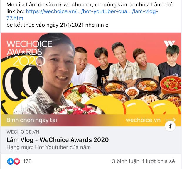 Lâm Vlog: Hành trình theo đuổi đam mê làm clip đưa anh chàng thợ hàn thành Hot YouTuber 5,6 triệu sub, được vinh danh tại WeChoice 2020 - Ảnh 6.