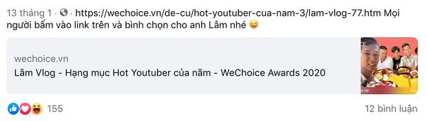 Lâm Vlog: Hành trình theo đuổi đam mê làm clip đưa anh chàng thợ hàn thành Hot YouTuber 5,6 triệu sub, được vinh danh tại WeChoice 2020 - Ảnh 7.