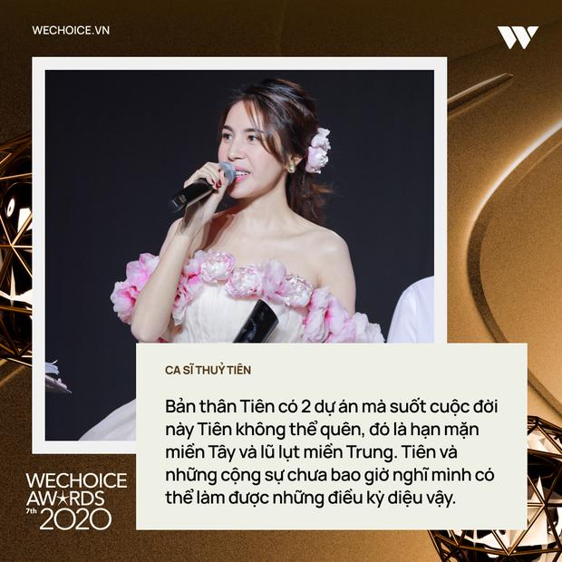 Top 10 nhân vật truyền cảm hứng và những chia sẻ lay động trái tim trong đêm Gala WeChoice Awards 2020 - Ảnh 3.