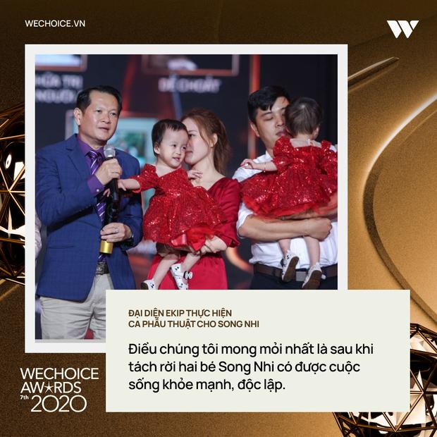 Top 10 nhân vật truyền cảm hứng và những chia sẻ lay động trái tim trong đêm Gala WeChoice Awards 2020 - Ảnh 4.
