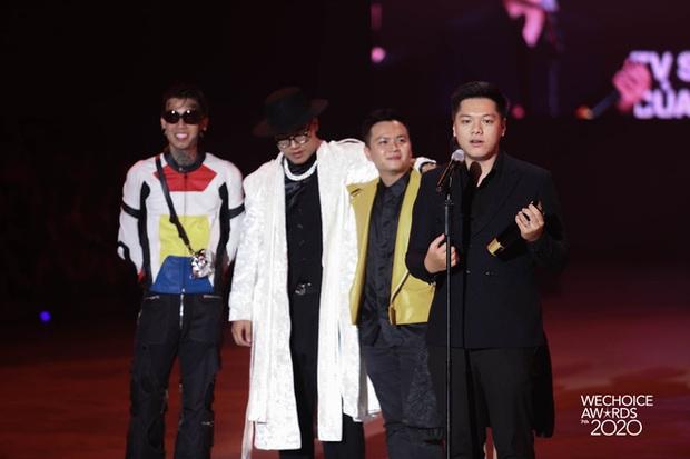 Rap Việt chính thức đạt giải TV Show của năm tại WeChoice Awards 2020! - Ảnh 6.