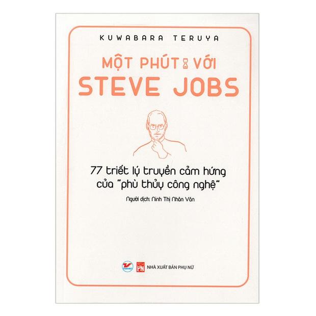 Một Phút Cùng Những Người Xuất Chúng: Bộ sách đúc kết những bài học, kinh nghiệm vàng từ Warren Buffett, Steve Jobs, Jeff Bezos... - Ảnh 1.